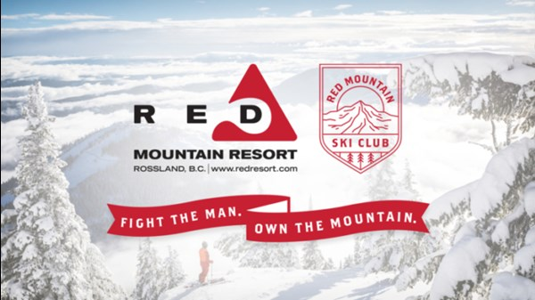 "Famous RED Mountain campaign ""Fight the Man, Own the Mountain"""